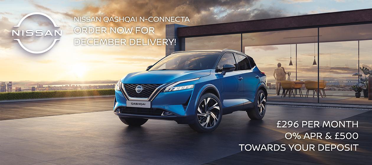 Nissan Qashqai offers